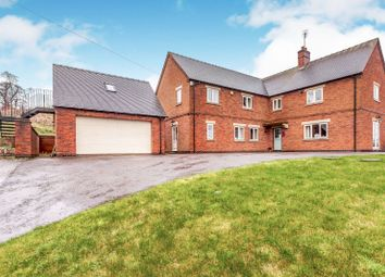 Thumbnail 4 bed detached house for sale in Clifton Road, Clifton, Ashbourne