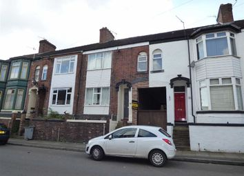 Thumbnail 5 bed terraced house for sale in Sackville Street, Basford, Stoke-On-Trent