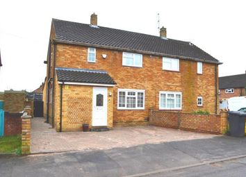 Thumbnail 3 bed semi-detached house for sale in Wodecroft Road, Luton, Bedfordshire