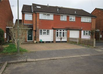 Thumbnail 5 bed detached house for sale in Brighton Close, Addlestone, Surrey
