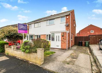 Thumbnail 3 bed semi-detached house for sale in Braemar Drive, Leeds