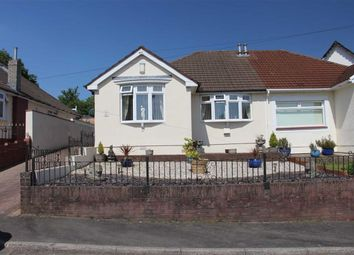 Thumbnail 3 bed semi-detached bungalow for sale in Energlyn Close, Caerphilly