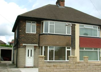 Thumbnail 3 bed semi-detached house to rent in Moorland Road, Pudsey