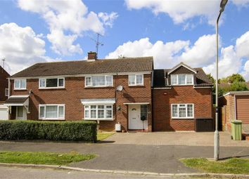 Thumbnail 4 bed semi-detached house for sale in Kennilworth Drive, Bletchley, Milton Keynes, Bucks