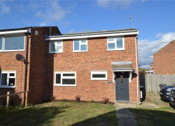 Thumbnail 3 bed semi-detached house for sale in Long Horse Croft, Saffron Walden, Essex
