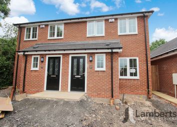 Thumbnail 3 bed semi-detached house for sale in Railway Close, Studley