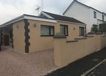 Thumbnail 3 bed detached bungalow for sale in Station Road, Coelbren, Neath, Neath Port Talbot.