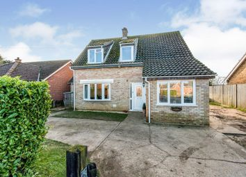 Thumbnail 4 bedroom detached house for sale in Neville Close, Saham Toney, Thetford