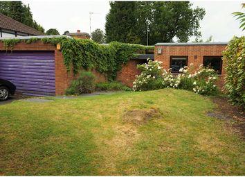 Thumbnail Detached bungalow for sale in Kensington Road, Birmingham