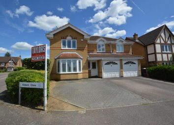Thumbnail 5 bedroom detached house for sale in Aldwell Close, Wootton, Northampton, Northamptonshire