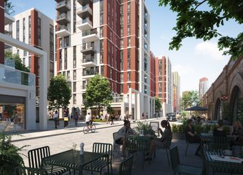 Thumbnail 3 bedroom flat for sale in Lexington Gardens, Nine Elms, London