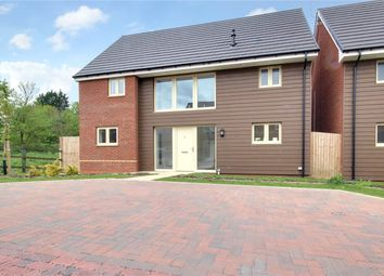 Thumbnail 4 bed detached house for sale in Woodlands Close, Upper Stratton, Swindon