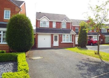 Thumbnail 3 bed detached house for sale in Fradgley Grove, Uttoxeter, Staffordshire