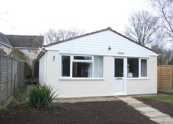 Thumbnail 1 bed bungalow to rent in Mallins Lane, Longcot, Faringdon