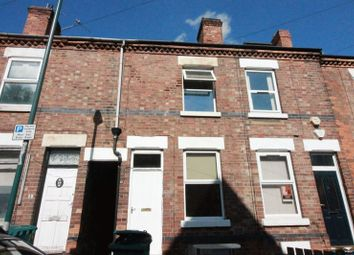Thumbnail 3 bed end terrace house to rent in Chilwell Street, Nottingham