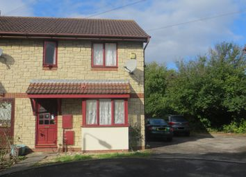 Thumbnail 3 bedroom end terrace house for sale in Methwyn Close, Weston Super Mare