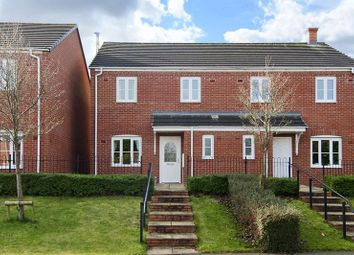 Thumbnail 3 bed semi-detached house for sale in Sanders Way, Lichfield