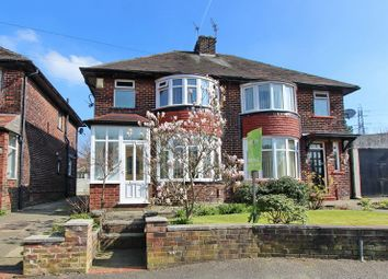 Thumbnail 3 bed semi-detached house for sale in Hardmans Road, Whitefield, Manchester