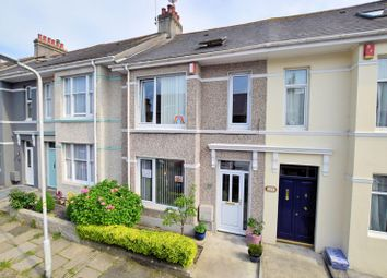Thumbnail 4 bed terraced house for sale in Glendower Road, Peverell, Plymouth
