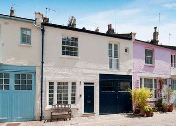 Thumbnail 3 bed terraced house for sale in Cranley Mews, South Kensington, London