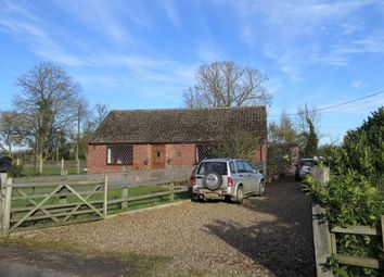 Thumbnail 2 bed detached bungalow for sale in Walsham Road, Wattisfield, Diss