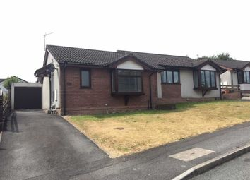 Thumbnail 1 bed semi-detached bungalow for sale in Maes Y Dderwen, Llansamlet, Swansea