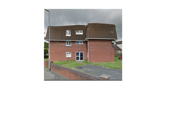 Thumbnail 1 bed flat to rent in Croft St, Willenhall