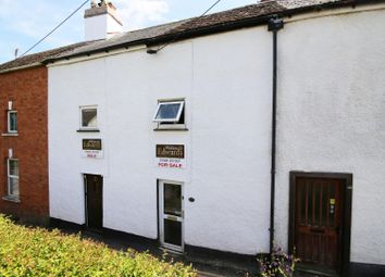 Thumbnail 2 bed terraced house for sale in Water Lane, Tiverton