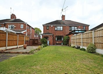 Thumbnail 3 bed semi-detached house for sale in Lawton Avenue, Church Lawton, Stoke-On-Trent