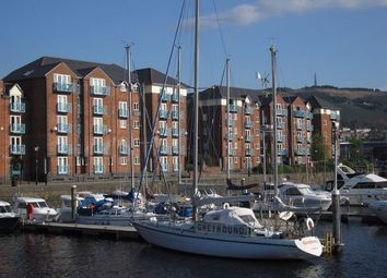 Thumbnail 1 bed flat to rent in Weavers House, Maritime Quarter, Swansea