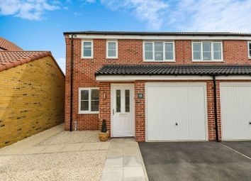 Thumbnail 3 bedroom semi-detached house for sale in 48 Palm House Drive, Selby