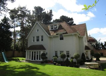 Thumbnail 4 bed detached house to rent in Hampton House, Lawrence Drive, Canford Cliffs