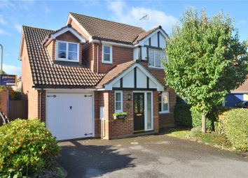 Thumbnail 4 bed detached house for sale in Woodfield Way, Theale, Reading, Berkshire