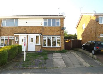 Thumbnail 3 bed semi-detached house for sale in Brushfield Avenue, Sileby, Loughborough