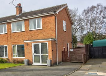 Thumbnail 3 bed semi-detached house for sale in Dunbar Road, Coalville