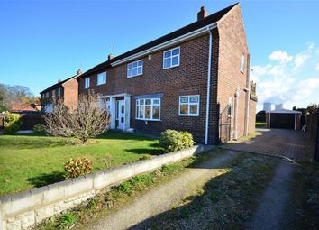 Thumbnail 3 bed semi-detached house for sale in Mill Lane, Camblesforth, Selby