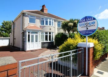 Thumbnail 3 bed semi-detached house for sale in Gloucester Avenue, Thornton-Cleveleys