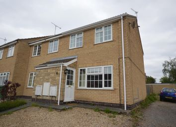 Thumbnail 2 bed terraced house to rent in Gurney Crescent, Littlethorpe, Leicester