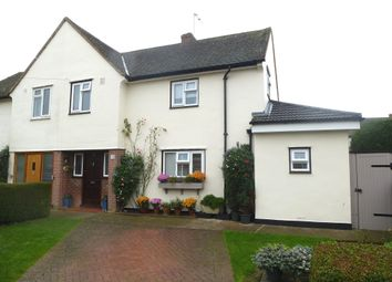 Thumbnail 3 bed semi-detached house for sale in Hansells Mead, Roydon, Harlow