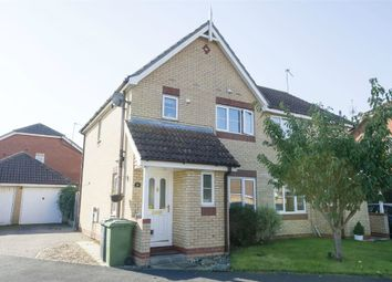 Thumbnail 3 bed semi-detached house for sale in Bridge Meadow, Hemsby, Great Yarmouth, Norfolk
