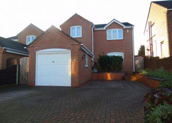Thumbnail 4 bed detached house to rent in Birchwood Lane, Somercotes, Alfreton