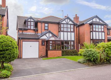 Thumbnail 4 bed detached house for sale in Brook Farm Close, Aughton, Ormskirk