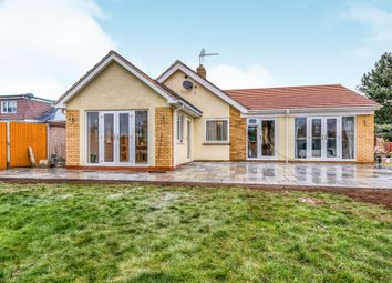 Thumbnail 4 bed detached bungalow for sale in Stockwell Avenue, Wootton, Northampton