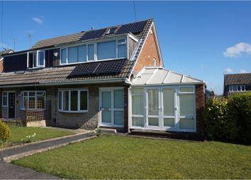 Thumbnail 3 bed semi-detached house for sale in Heathfield Walk, Leeds