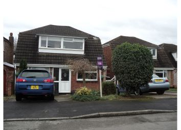 Thumbnail 3 bed detached house for sale in Hadstock Close, Sandiacre