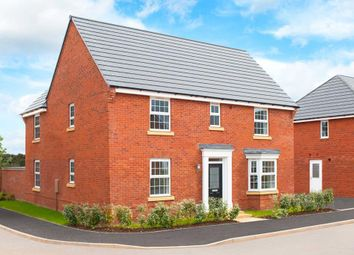 "Thumbnail 4 bedroom detached house for sale in ""Layton"" at Grange Road, Hugglescote, Coalville"