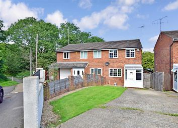 Thumbnail 3 bed semi-detached house for sale in Cherbourg Crescent, Chatham, Kent