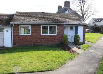 Thumbnail 2 bed terraced bungalow for sale in Poplars Close, Groby, Leicester