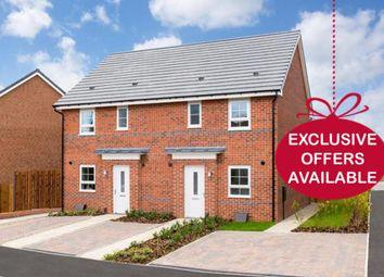 "Thumbnail 3 bed end terrace house for sale in ""Folkestone"" at Bedewell Industrial Park, Hebburn"
