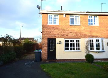 Thumbnail 2 bedroom semi-detached house to rent in Paxton Avenue, Perton, Wolverhampton